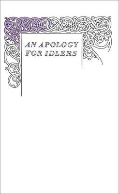 Apology for Idlers (BOK)