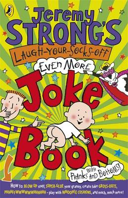 Jeremy Strong's Laugh-Your-Socks-Off-Even-More Joke Book (BOK)