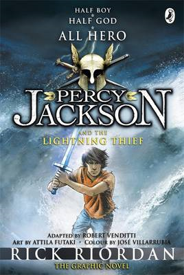 Percy Jackson and the Lightning Thief: The Graphic Novel (BOK)