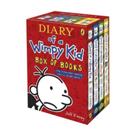 Diary of a Wimpy Kid Box of Books (BOK)