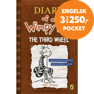Produktbilde for Diary of a Wimpy Kid: The Third Wheel (Book 7) (BOK)