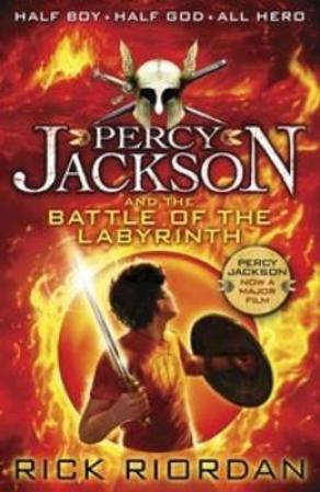 Percy Jackson and the Battle of the Labyrinth (BOK)