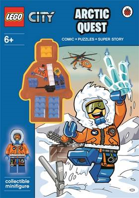 Lego City: Arctic Quest Activity Book With Minifigure (BOK)