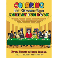 Coloring for Grown-Ups Holiday Fun Book (BOK)