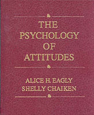 Psychology of Attitudes (BOK)