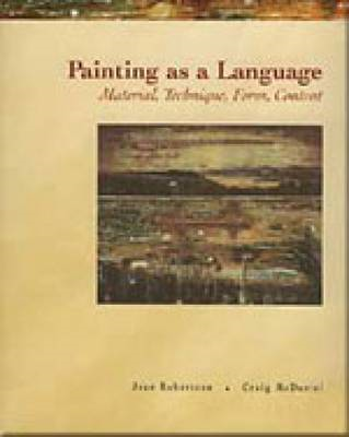 Painting as a Language (BOK)