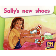 Sally's New Shoes PM Magenta Starters 2-3 (BOK)