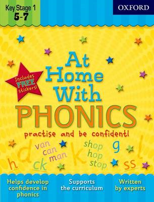 At Home With Phonics (BOK)