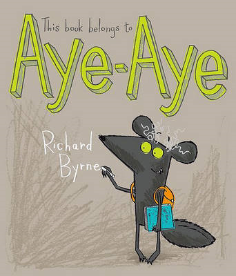 This Book Belongs to Aye-Aye (BOK)