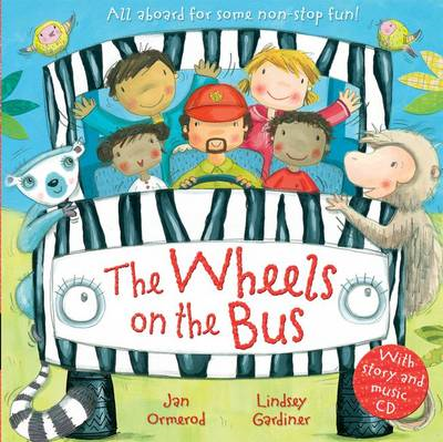The Wheels on the Bus with Audio-CD (BOK)