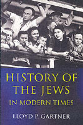 History of the Jews in Modern Times (BOK)