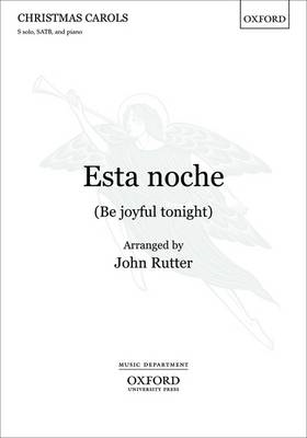 Esta Noche (be Joyful Tonight): Vocal Score (BOK)