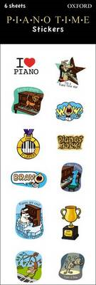 Piano Time Stickers (BOK)
