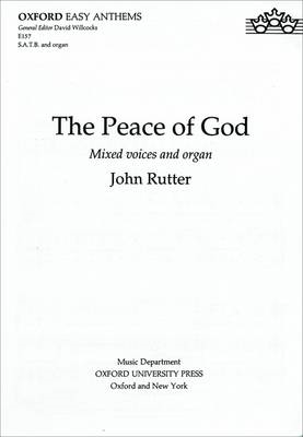 The Peace of God: SATB Vocal Score (BOK)