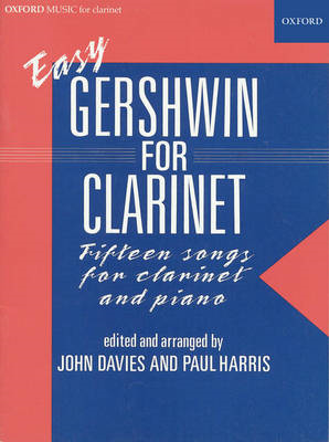 Easy Gershwin for clarinet (BOK)