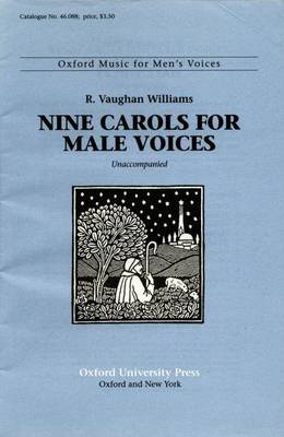 Nine Carols for male voices (BOK)