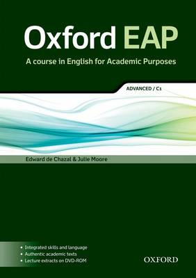 Oxford EAP: Advanced/C1: Student's Book with DVD-ROM (BOK)
