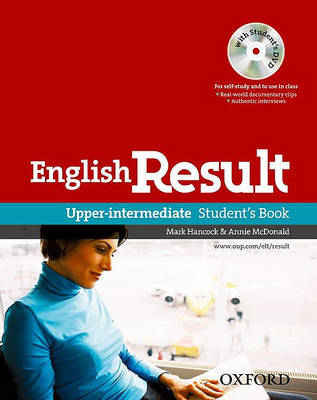 English Result Upper-intermediate: Student's Book with DVD Pack: General English Four-skills Course (BOK)