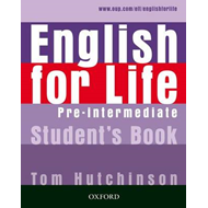 English for Life: Pre-intermediate: Student's Book (BOK)
