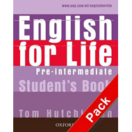 English for Life Pre-intermediate: Student's Book with MultiROM Pack: General Eglish Four-skills Cou (BOK)