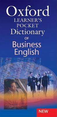 Oxford Learner's Pocket Dictionary of Business English (BOK)