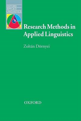 Research Methods in Applied Linguistics (BOK)