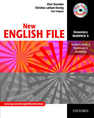 New English File: Elementary: MultiPACK A (BOK)