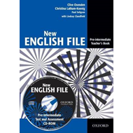 New English File: Pre-intermediate: Teacher's Book with Test (BOK)