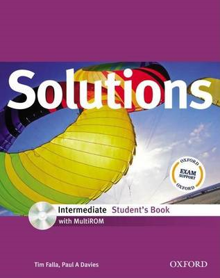 Solutions: Intermediate: Student's Book with MultiROM Pack (BOK)