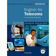 Express Series: English for Telecoms Student's Book and Multirom Pack: A Short, Specialist English C (BOK)