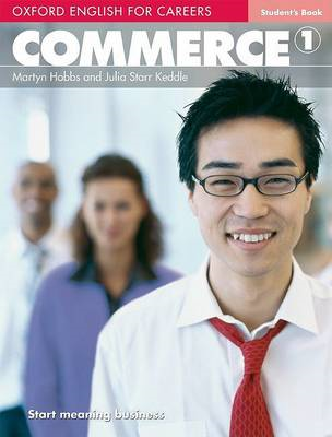Oxford English for Careers: Commerce 1: Student's Book (BOK)