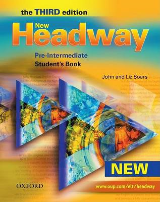 New Headway: Pre-Intermediate Third Edition: Student's Book (BOK)