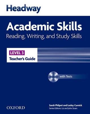 Headway Academic Skills: 3: Reading, Writing, and Study Skills Teacher's Guide with Tests CD-ROM (BOK)