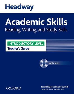 Headway Academic Skills: Introductory: Reading, Writing, and Study Skills Teacher's Guide with Tests (BOK)