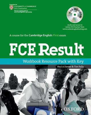 FCE Result: Workbook Resource Pack with Key (BOK)