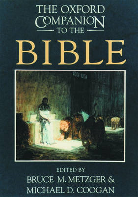 The Oxford Companion to the Bible (BOK)