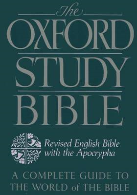 Oxford Study Bible: Revised English Bible with Apocrypha (BOK)
