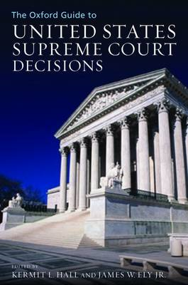 The Oxford Guide to United States Supreme Court Decisions (BOK)