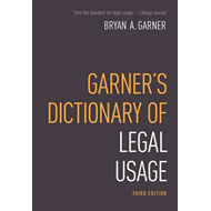 Garner's Dictionary of Legal Usage (BOK)