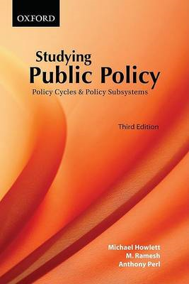 Studying Public Policy: Policy Cycles and Policy Subsystems (BOK)
