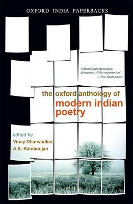 The Oxford Anthology of Modern Indian Poetry (BOK)