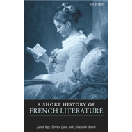 A Short History of French Literature (BOK)