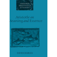 Aristotle on Meaning and Essence (BOK)