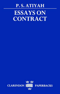 Essays on Contract (BOK)