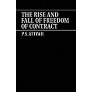 The Rise and Fall of Freedom of Contract (BOK)