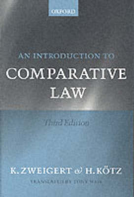 Introduction to Comparative Law (BOK)