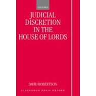 Judicial Discretion in the House of Lords (BOK)