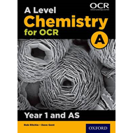 A Level Chemistry A for OCR Year 1 and AS Student Book (BOK)