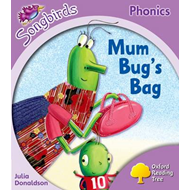 Oxford Reading Tree: Stage 1+: Songbirds: Mum Bug's Bag (BOK)