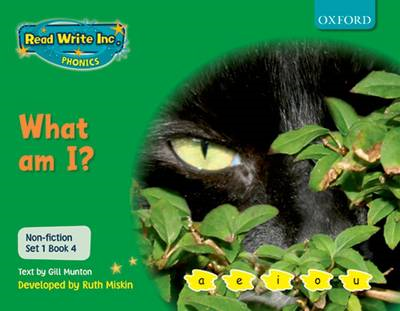Read Write Inc. Phonics: Non-fiction Set 1 (Green): What am I? (BOK)
